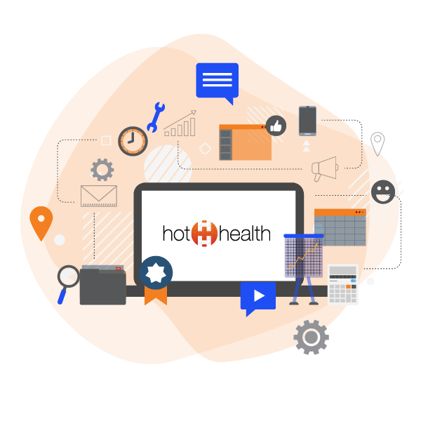 HotHealth All in one engagement platform