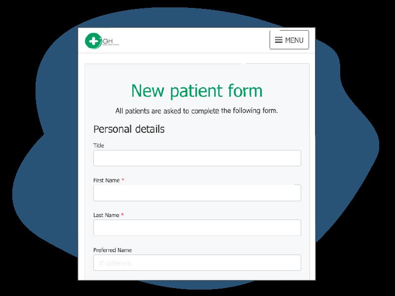HotHealth Registraion form - online